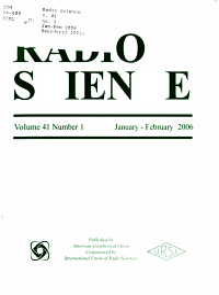 Radio Science PDF