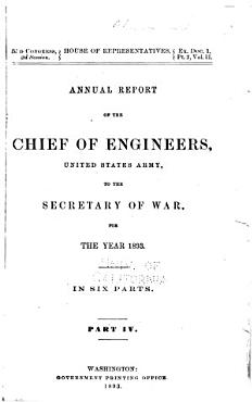 Report of the Chief of Engineers U S  Army PDF