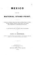 Mexico from the Material Stand point PDF