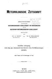Meteorologische Zeitschrift: Band 12