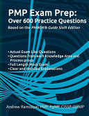 Pmp Exam Prep Over 600 Practice Questions