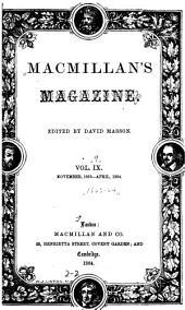 MacMillan's Magazine: Volume 9