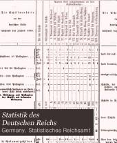 Statistik des Deutschen Reichs: Bände 42-43