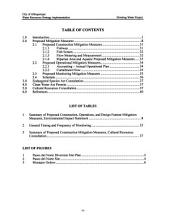 City of Albuquerque Drinking Water Project: Environmental Impact Statement