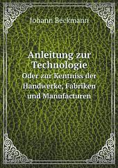 Anleitung zur Technologie