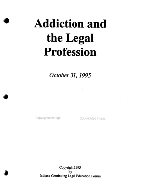 Addiction and the Legal Profession PDF