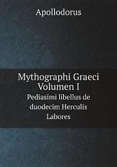 Mythographi Graeci. Volumen I