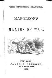 Napoleon's Maxims of War