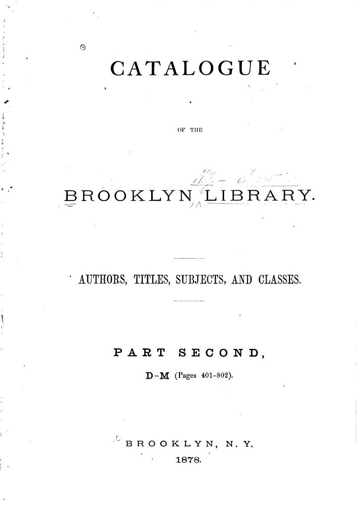 B-M, pages 401-802