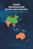 Trade Regionalism in the Asia Pacific PDF