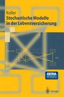Stochastische Modelle in der Lebensversicherung PDF