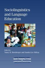 Sociolinguistics and Language Education PDF