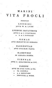 Marini Vita Procli