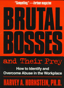 Brutal Bosses and Their Prey Book