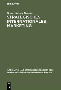 Strategisches Internationales Marketing PDF