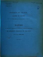 Rapports... sur les opérations géodésiques de l'Equateur (Amérique Sud): années 1902, 1903, 1904, 1905, 1907
