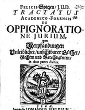 Tractatus academico-forensis de oppignoratione iurium