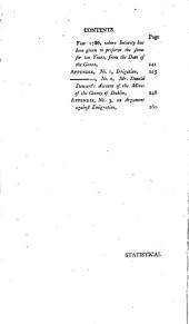 Statistical Survey of the County Dublin: With Observations on the Means of Improvement; Draw Up for the Consideration, and by Order of the Dublin Society