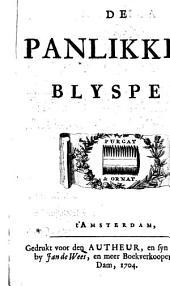 De Panlikker. Blyspel [in three acts and in verse. By H. van Halmael].