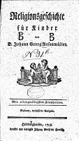 Religionsgeschichte f  r Kinder PDF