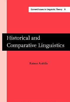 Historical and Comparative Linguistics PDF