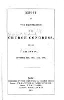 Report of the Proceedings PDF
