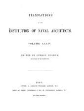 Transactions: (1893), Volume 34