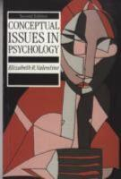 Conceptual Issues in Psychology PDF