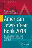 American Jewish Year Book 2018 PDF