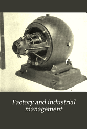 Factory and Industrial Management: Volume 25