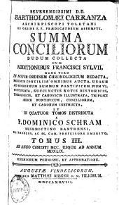 Summa conciliorum0: dudum collecta, Volume 3