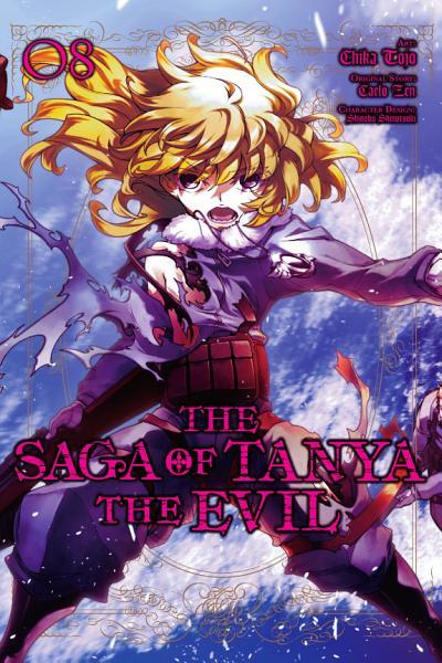 Download The Saga of Tanya the Evil  Vol  8  manga  Book
