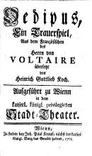 Oedipus PDF