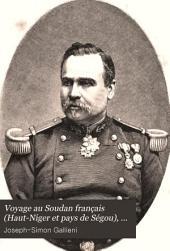 Mission d'exploration du Haut-Niger: voyage au Soudan français (Haut-Niger et pays de Ségou) 1879-1881