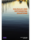 Calculus and Differential Equations Book