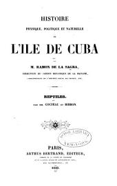 Histoire physique, politique et naturelle de l'ile de Cuba: Partie4