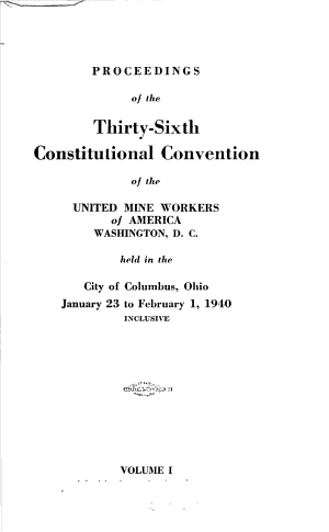 Proceedings of The   consecutive And   biennial Convention PDF