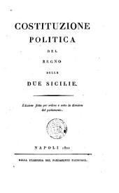 Costituzione politica del Regno dell Due Sicilie