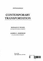 Contemporary Transportation PDF