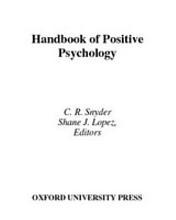 Handbook of Positive Psychology PDF