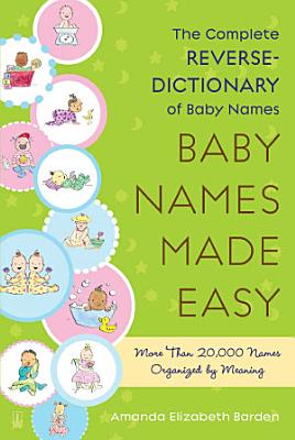 Baby Names Made Easy PDF