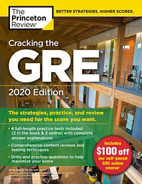 Cracking the GRE with 4 Practice Tests  2020 Edition PDF
