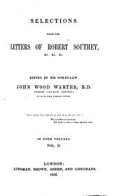Selections from the Letters of Robert Southey, 2