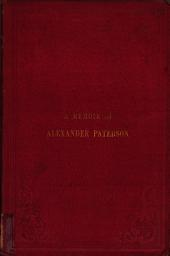 The missionary of Kilmany, a memoir of A. Paterson, with notices of R. Edie