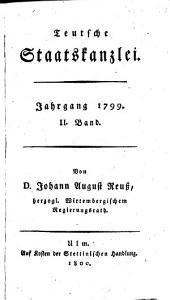 Teutsche Staatskanzlei: Band 8