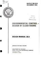 Environmental Control  Design of Clean Rooms PDF