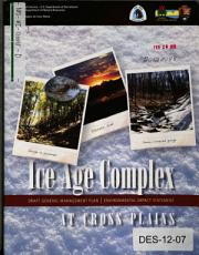 Ice Age Complex at Cross Plains  General Management Plan PDF