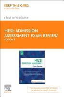 Admission Assessment Exam Review E Book PDF