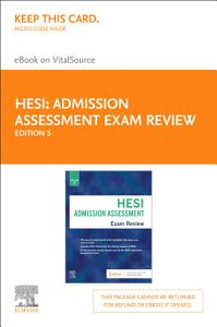 Admission Assessment Exam Review E Book Book