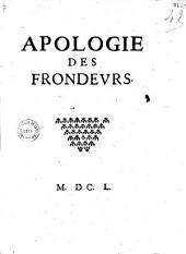 Apologie des frondeurs [par Retz]